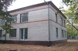Пескоструйная обработка фасадов, Новохорошевское ш., удаление графити, поверхность после очистки